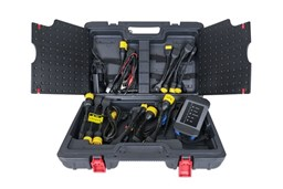 Picture of Heavy Duty Vehicle Diagnostic Tool Including Launch X-431 HD Box 3 Tablet