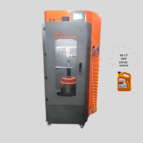 Picture of Diesel Particulate Filter DPF Cleaning Machine (With 20 Liter DPF Liquid Gift)