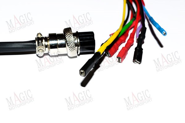 Picture of Magicmotorsport Breakbox colored fringed cable