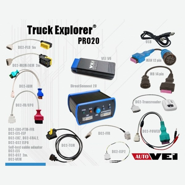 Picture of Autovei Truck Explorer PRO20